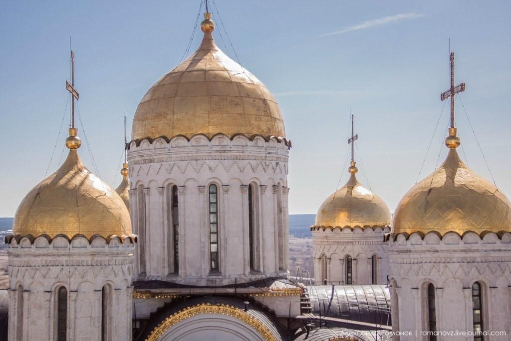 Вид на Владимир с высокой колокольни 04