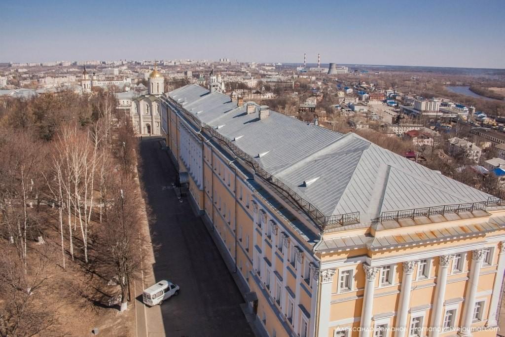 Вид на Владимир с высокой колокольни 05