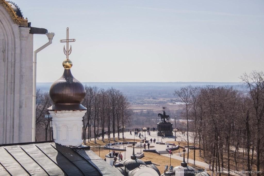 Вид на Владимир с высокой колокольни 06