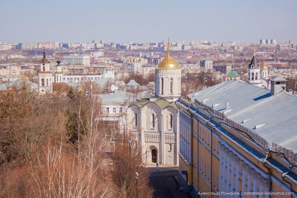 Вид на Владимир с высокой колокольни 07