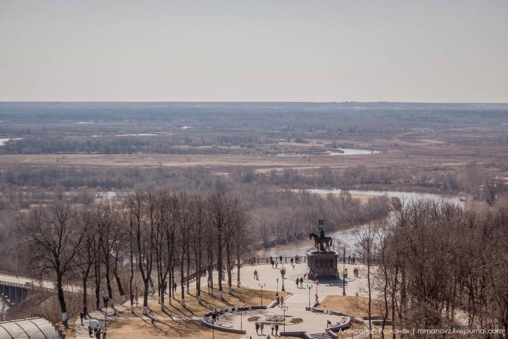 Вид на Владимир с высокой колокольни 08