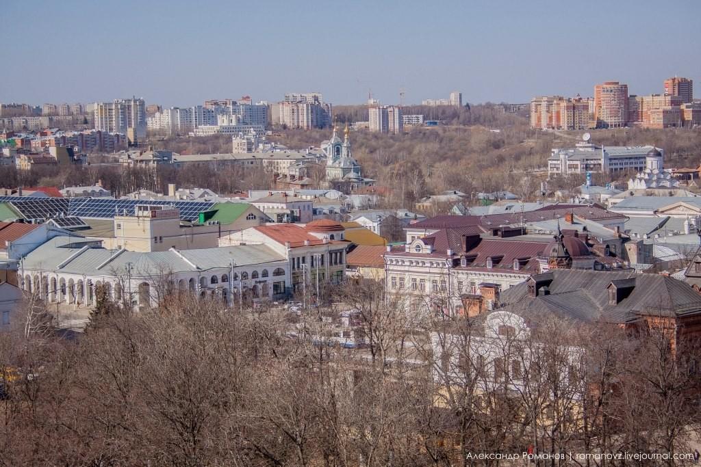 Вид на Владимир с высокой колокольни 09