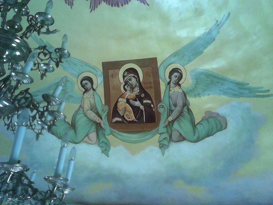 Виктор Бычков, росписи в Часовне в честь Первоверховных апостолов Петра и Павла 01