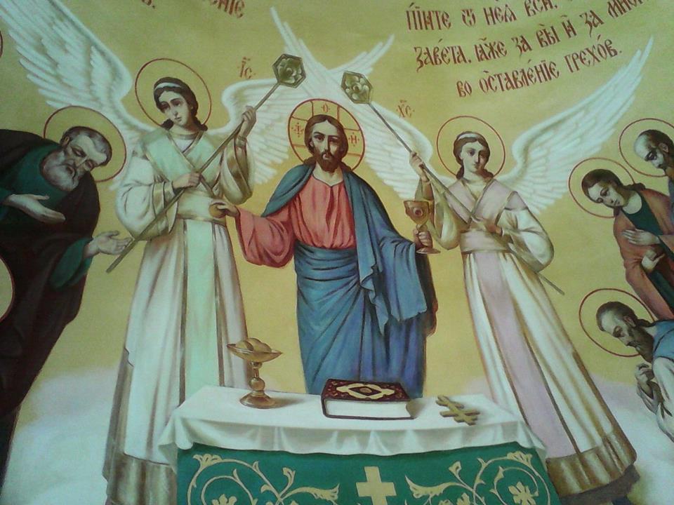 Виктор Бычков, росписи в Часовне в честь Первоверховных апостолов Петра и Павла 03