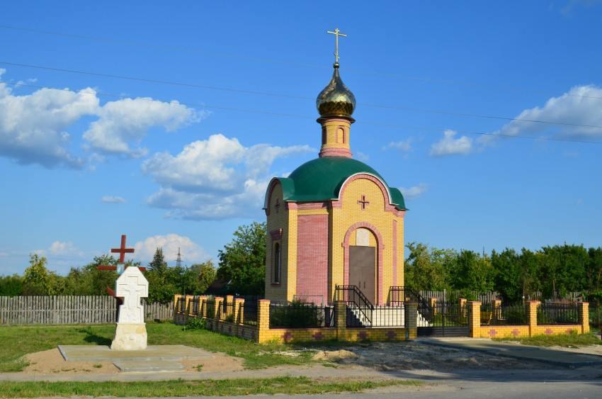 Виктор Бычков, росписи в Часовне в честь Первоверховных апостолов Петра и Павла 05