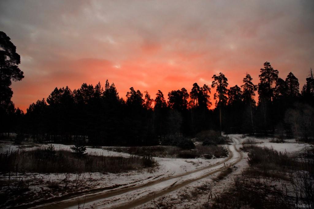 Владимирская область. Дорога на рассвет