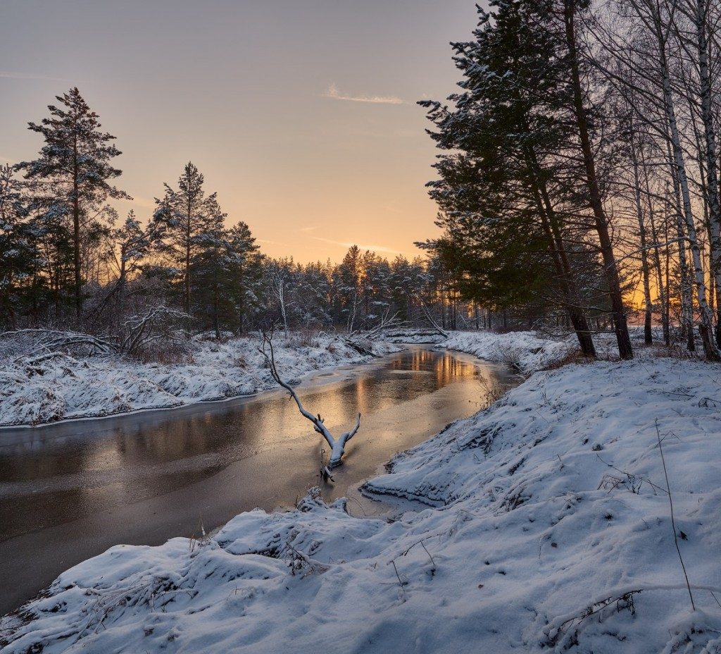 Владимирская область. Конец ноября. Река Шередарь