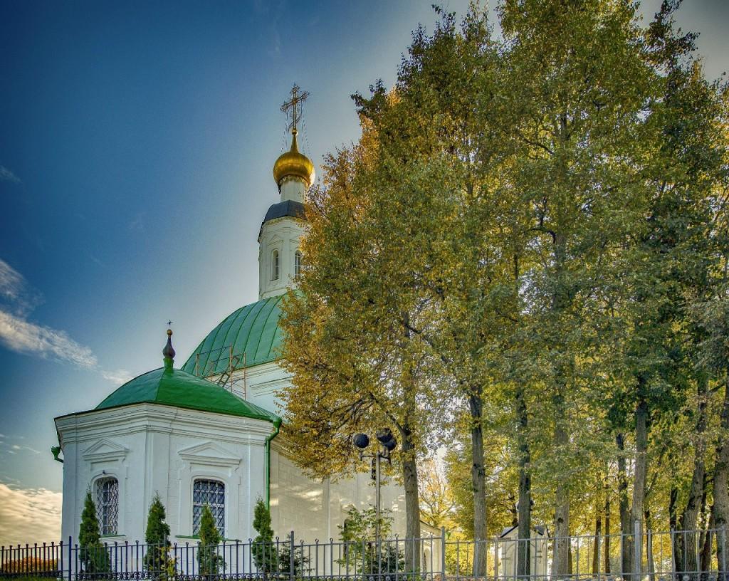 Владимирская осень. Зелень
