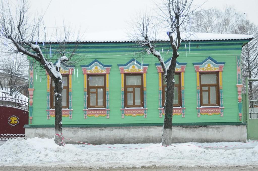 Восстановлен фасад жилого дома аптекаря Заруцкого (Киржач)