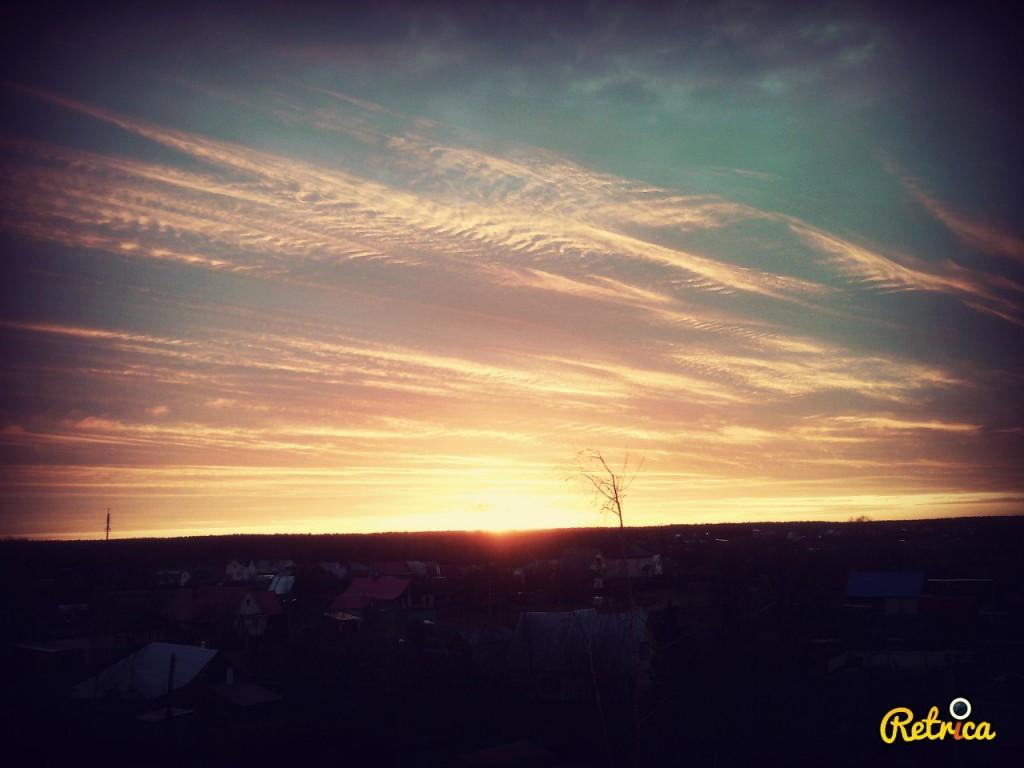 Восход в г. Александров
