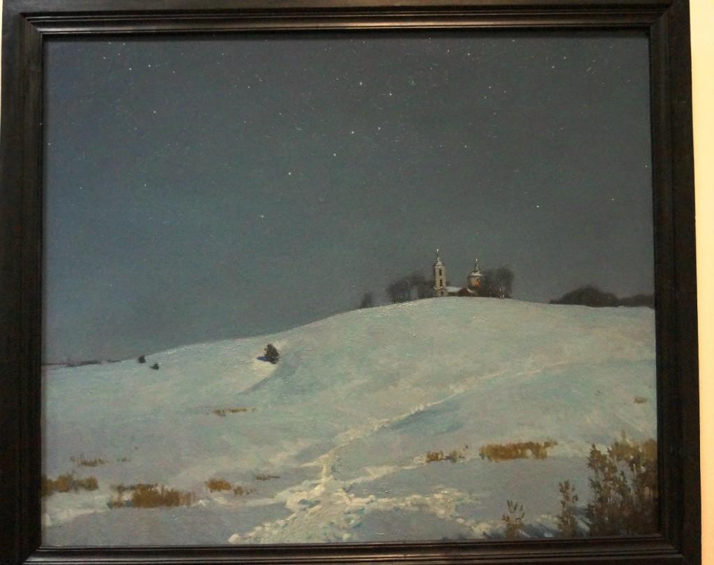 Выставка картин Виктора Лещева во Владимире 02