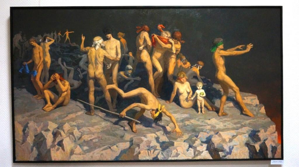 Выставка картин Виктора Лещева во Владимире 03