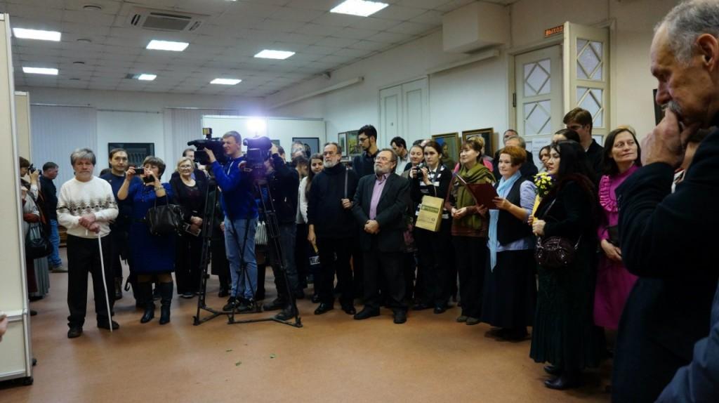 Выставка картин Виктора Лещева во Владимире 04