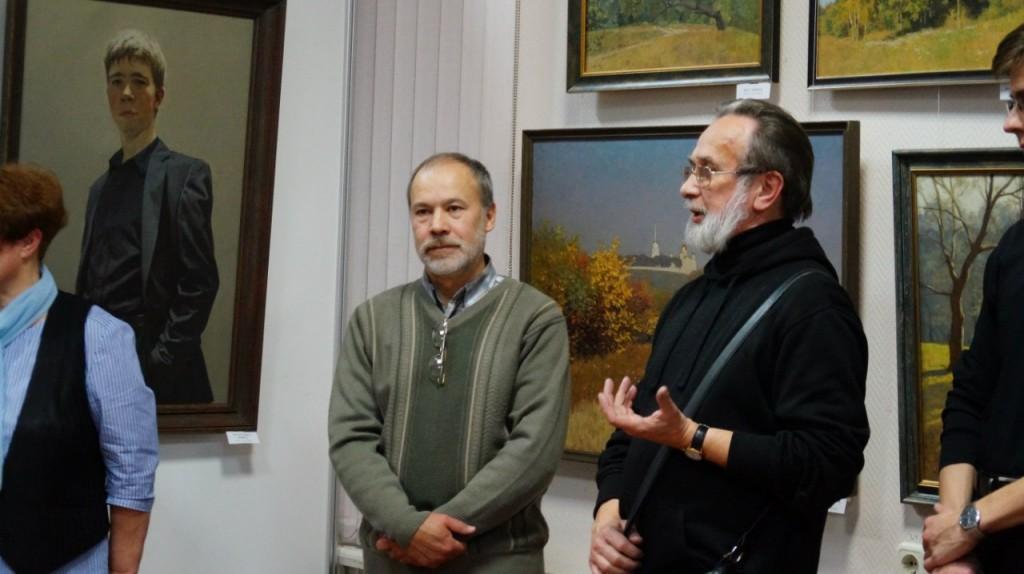 Выставка картин Виктора Лещева во Владимире 06