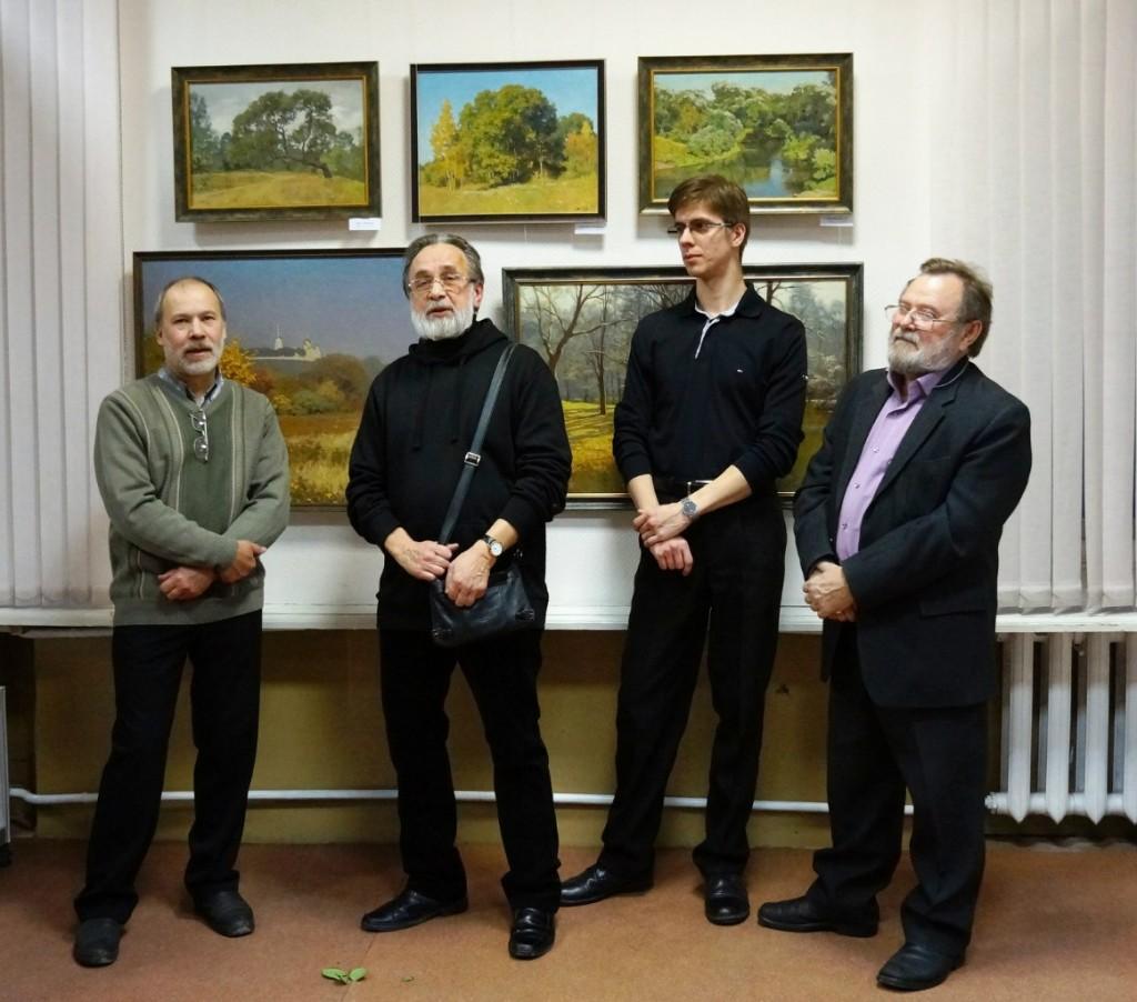 Выставка картин Виктора Лещева во Владимире 07