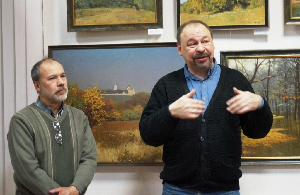 Выставка картин Виктора Лещева во Владимире 08