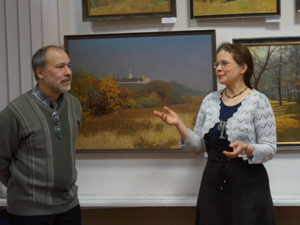 Выставка картин Виктора Лещева во Владимире 09