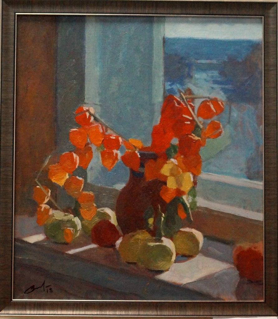Выставка картин Виктора Лещева во Владимире 11