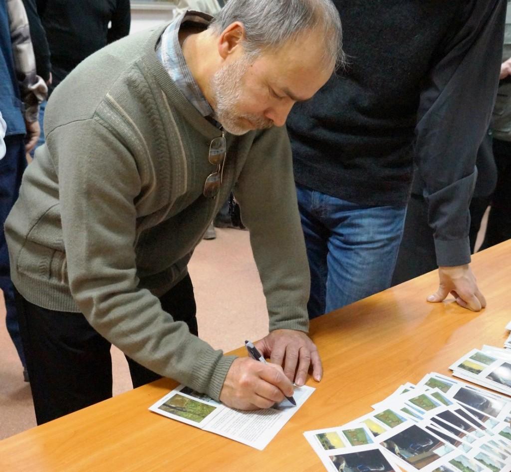 Выставка картин Виктора Лещева во Владимире 12