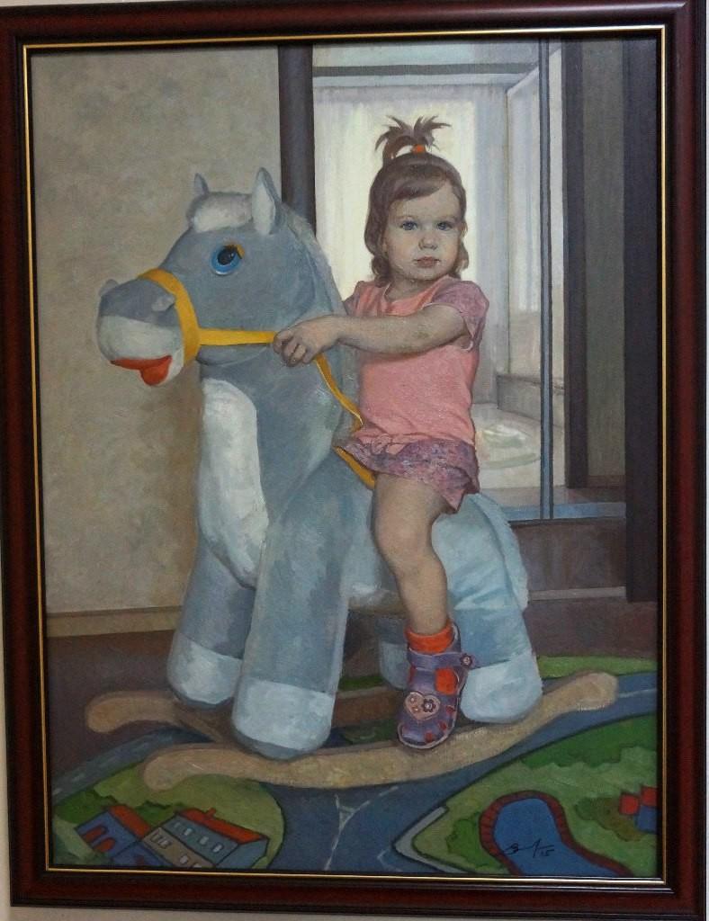 Выставка картин Виктора Лещева во Владимире 13