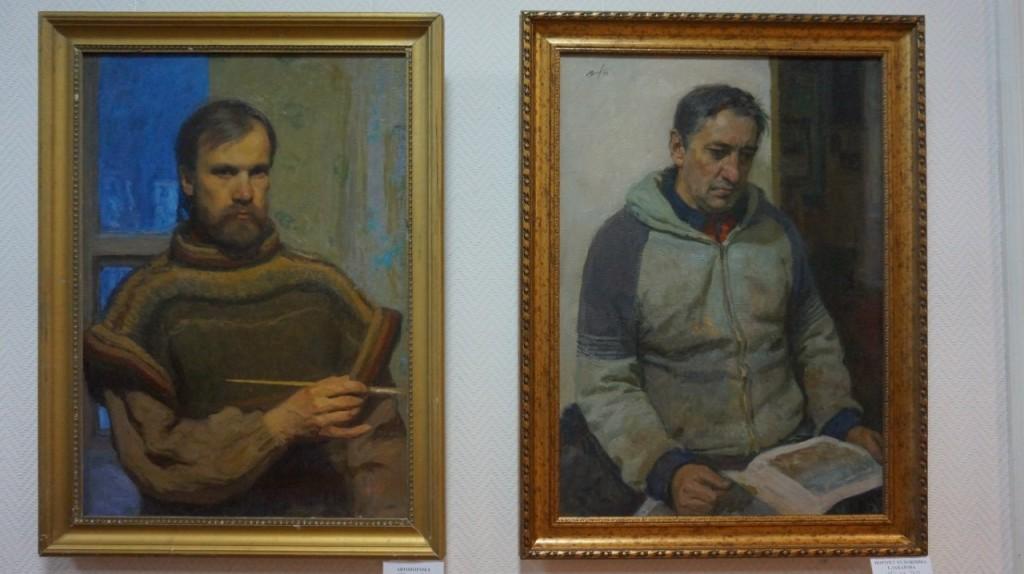 Выставка картин Виктора Лещева во Владимире 14