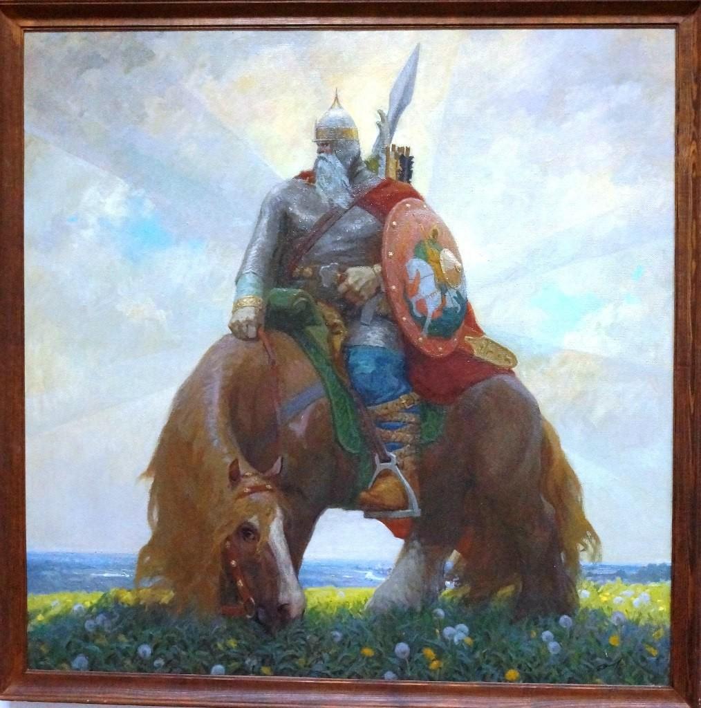 Выставка картин Виктора Лещева во Владимире 16