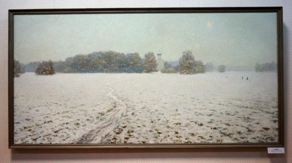 Выставка картин Виктора Лещева во Владимире 18