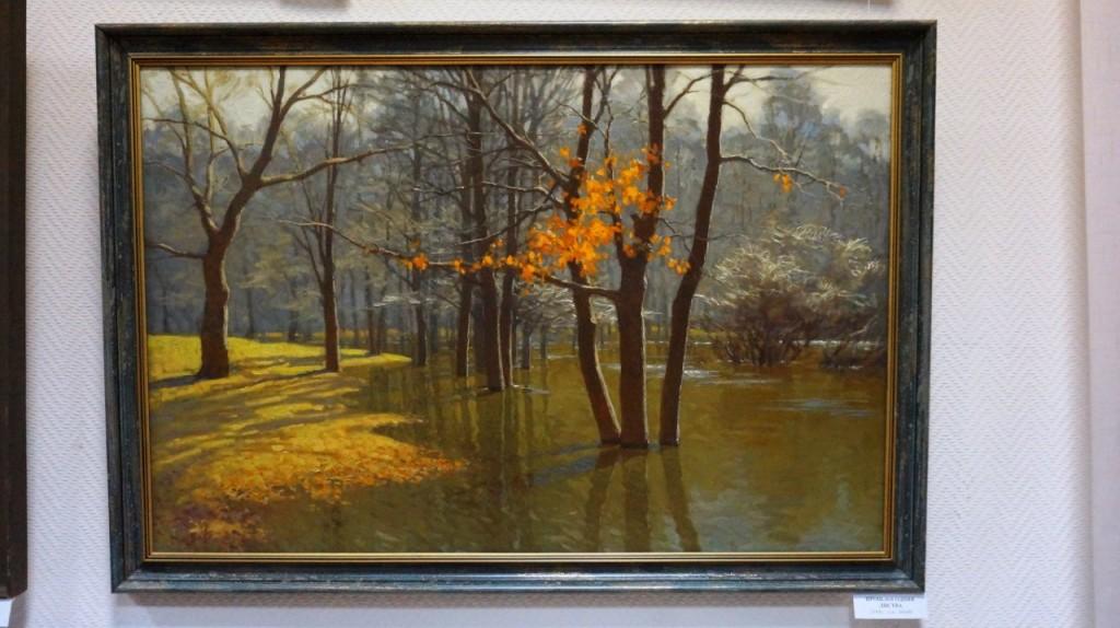 Выставка картин Виктора Лещева во Владимире 19