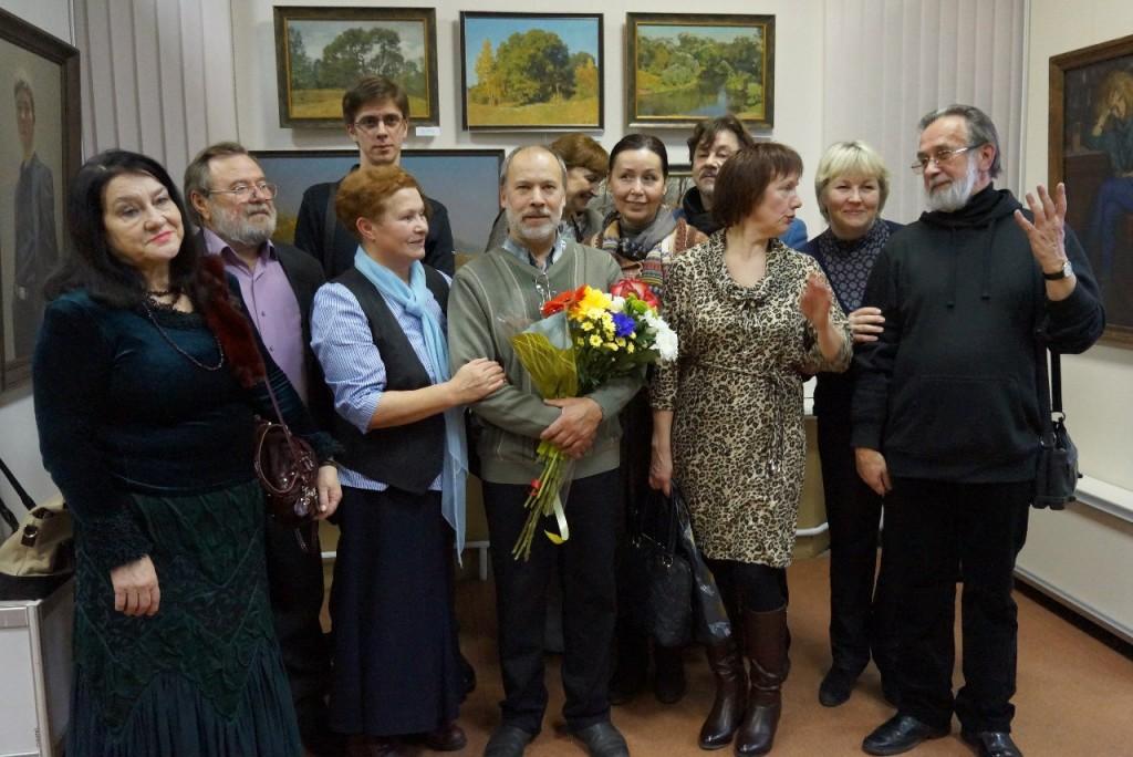 Выставка картин Виктора Лещева во Владимире 21