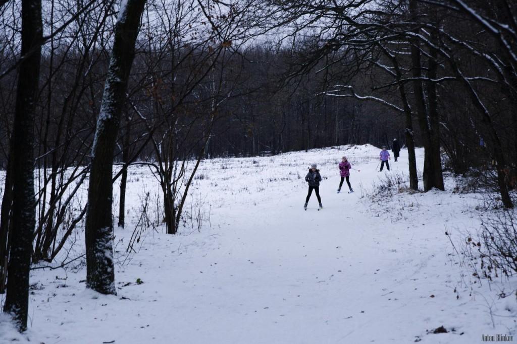В парке Дружба открылся лыжный сезон 01