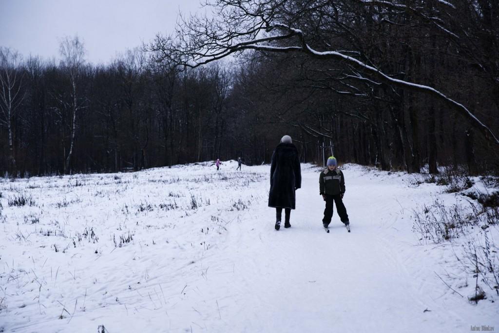 В парке Дружба открылся лыжный сезон 03