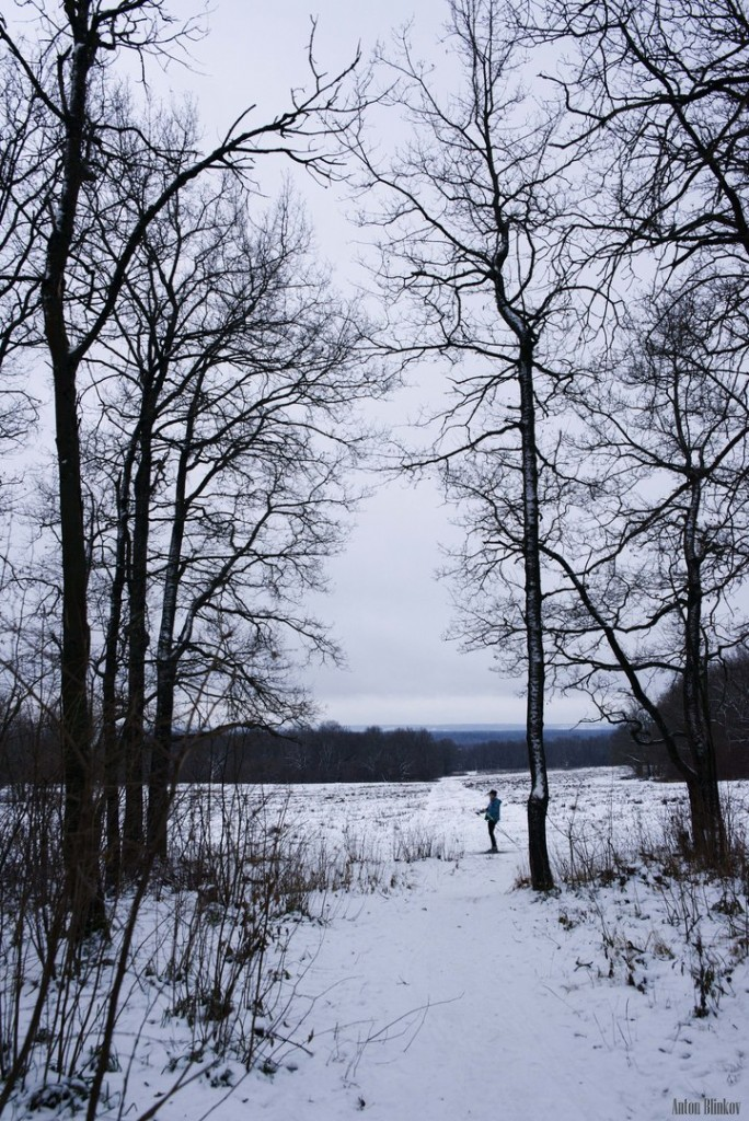 В парке Дружба открылся лыжный сезон 04