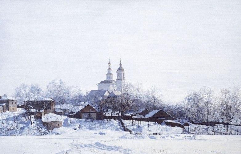 Город Владимир и река Ока 01
