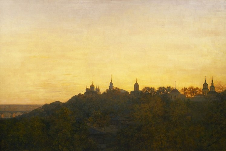Город Владимир и река Ока 04
