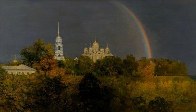Город Владимир и река Ока 05
