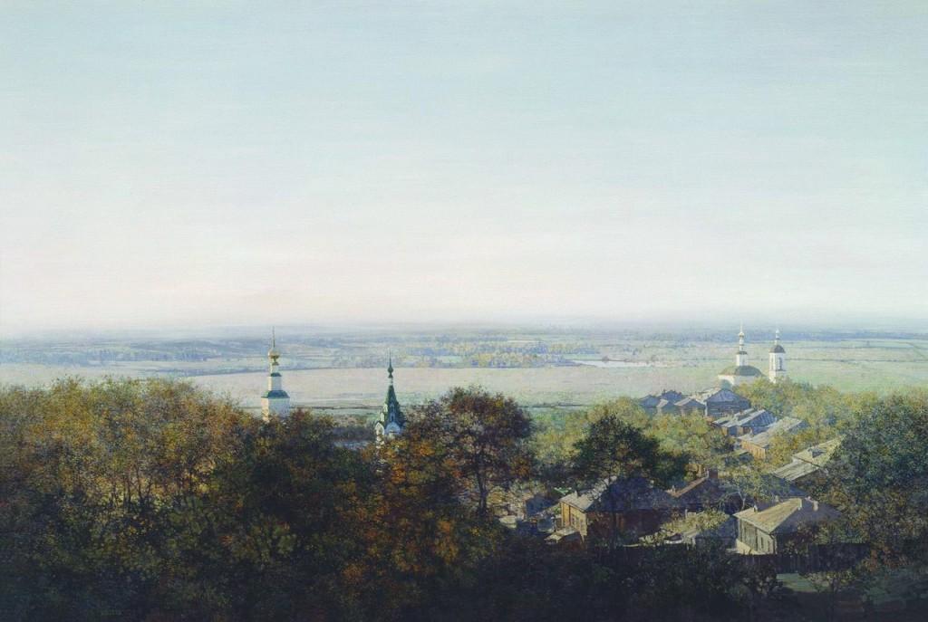 Город Владимир и река Ока 06