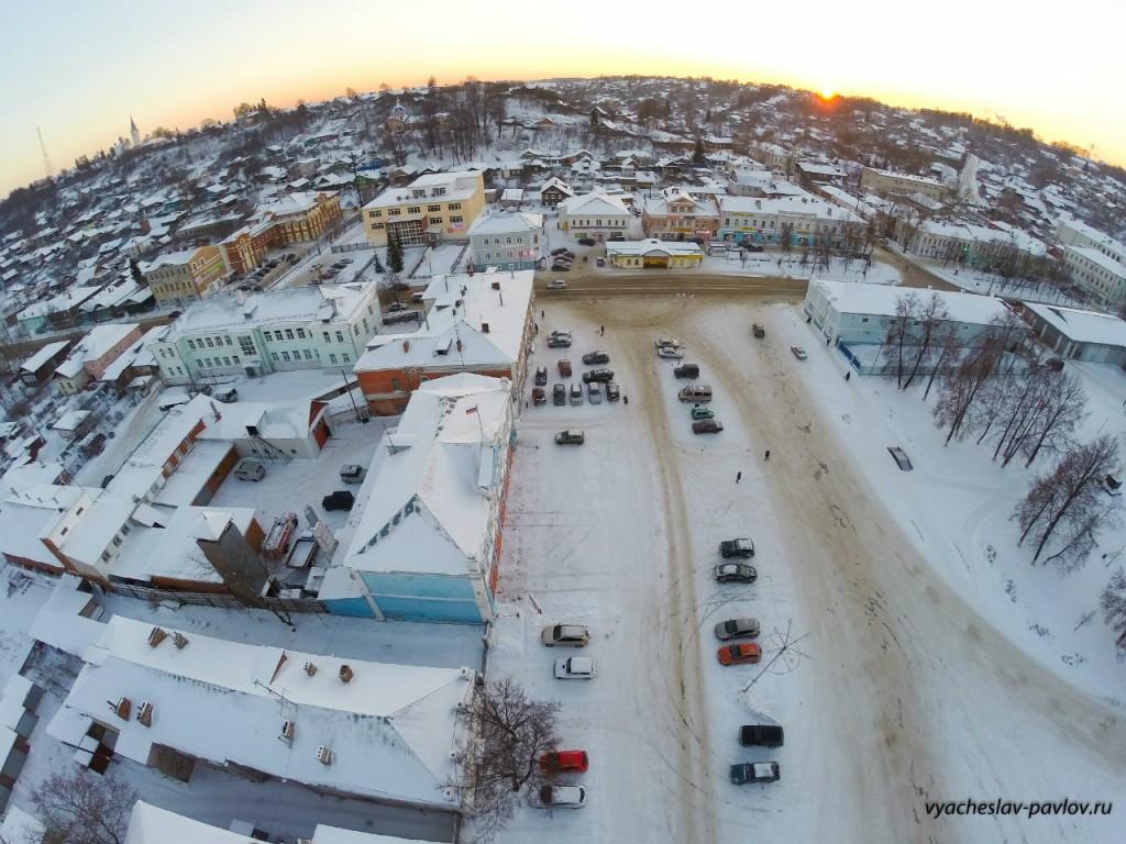 Город Вязники - Соборная площадь