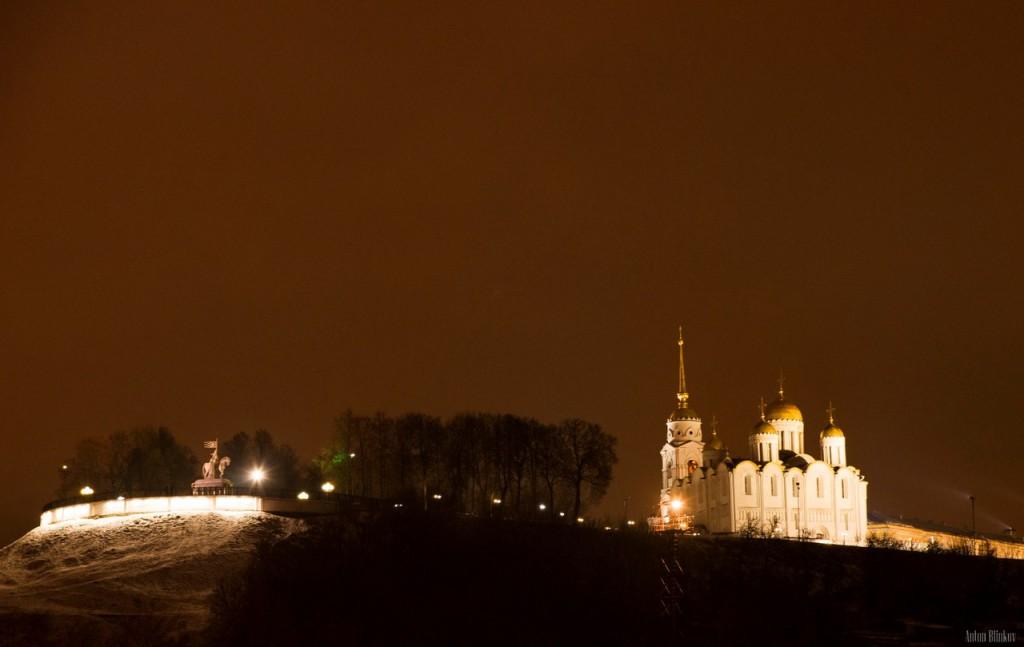 Декабрь 2015 во Владимире Пока ещё не растаял снег.