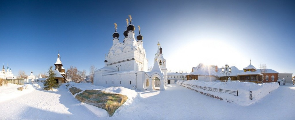 Достопримечательности Мурома - Свято-Троицкий монастырь