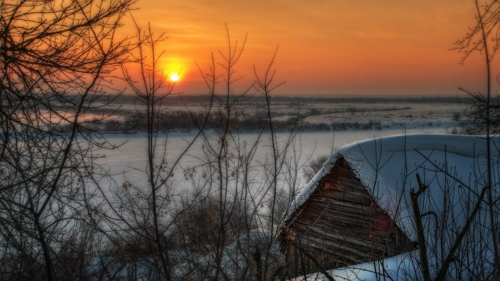 Зима на Оке и Илевне близ Мурома 01
