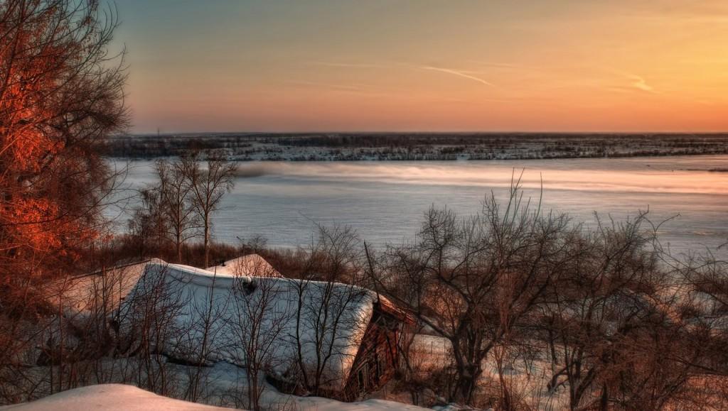 Зима на Оке и Илевне близ Мурома 02