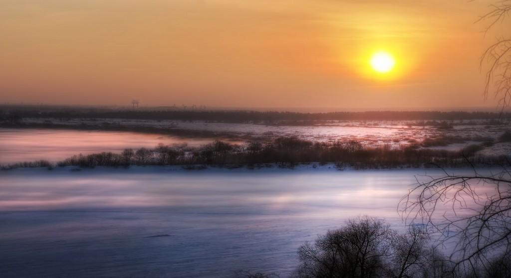 Зима на Оке и Илевне близ Мурома 03