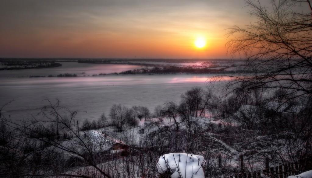 Зима на Оке и Илевне близ Мурома 04