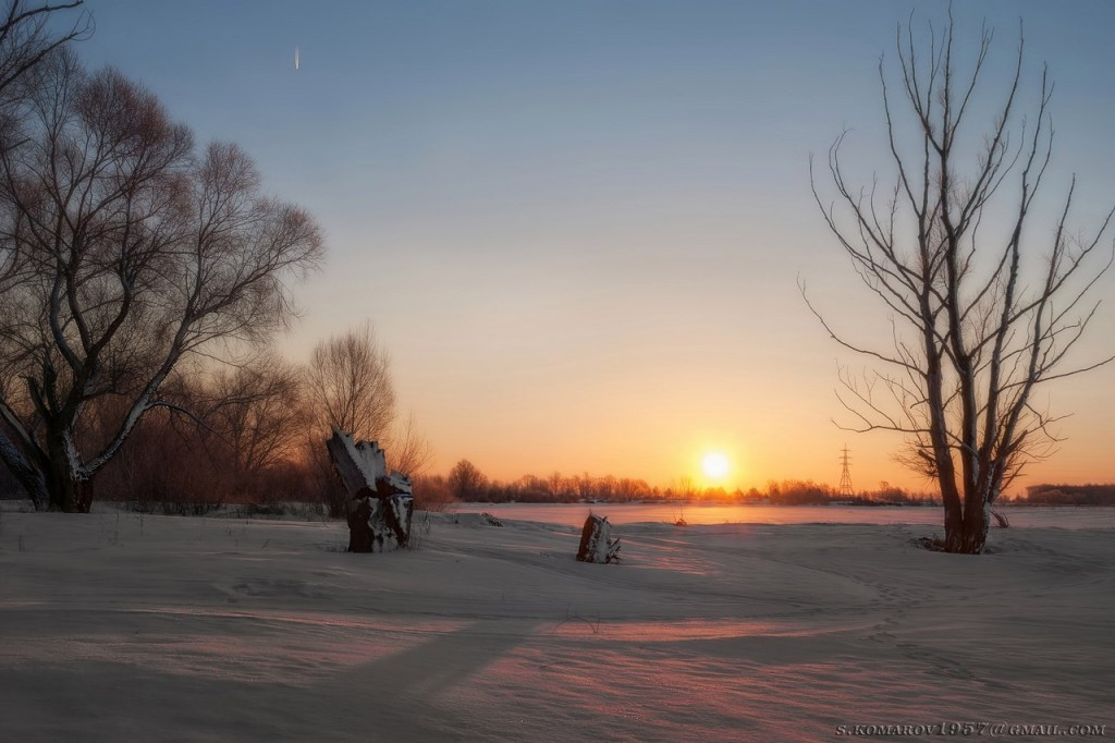 Зима на Оке и Илевне близ Мурома 05