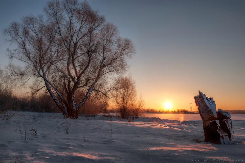Зима на Оке и Илевне близ Мурома 07