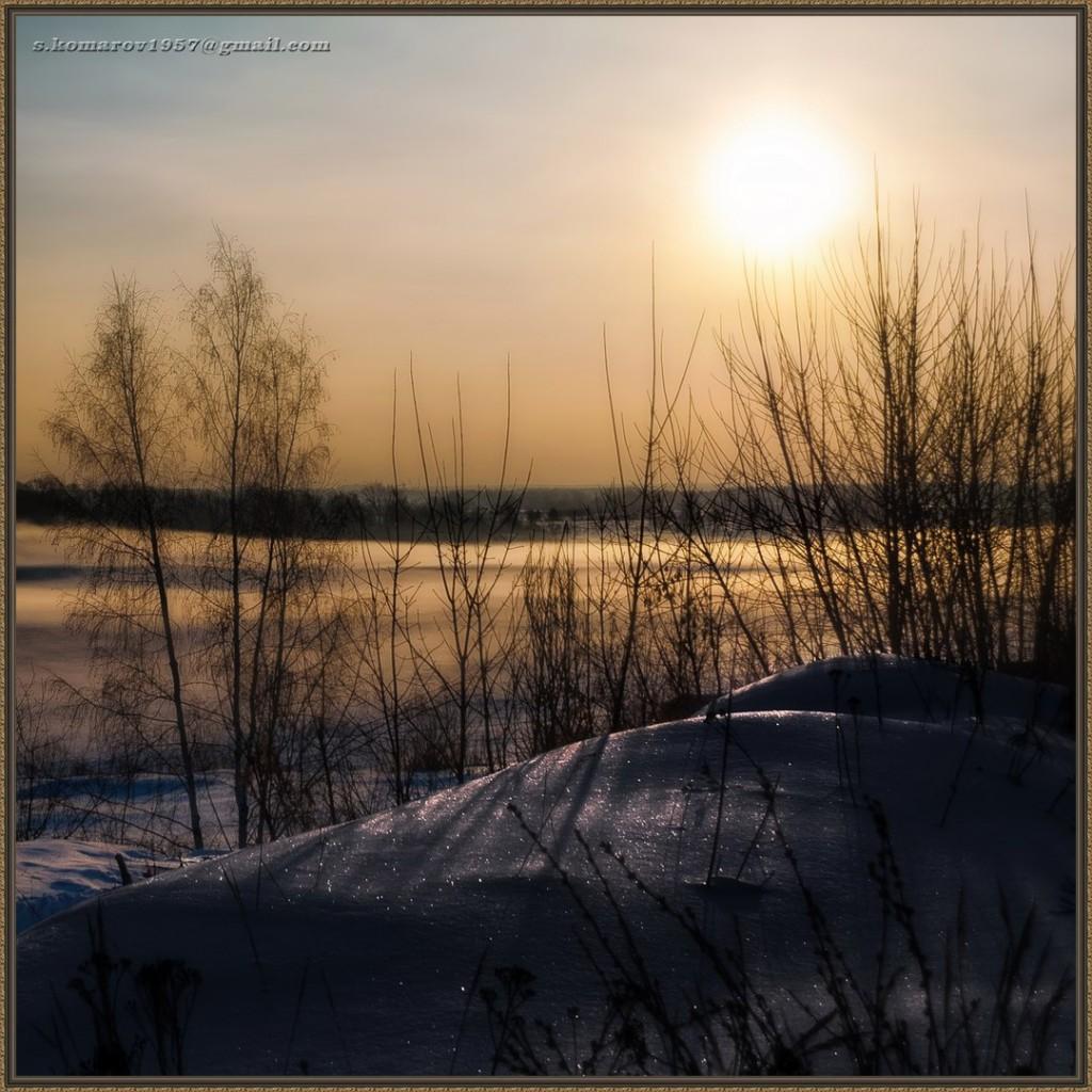 Зима на Оке и Илевне близ Мурома 08