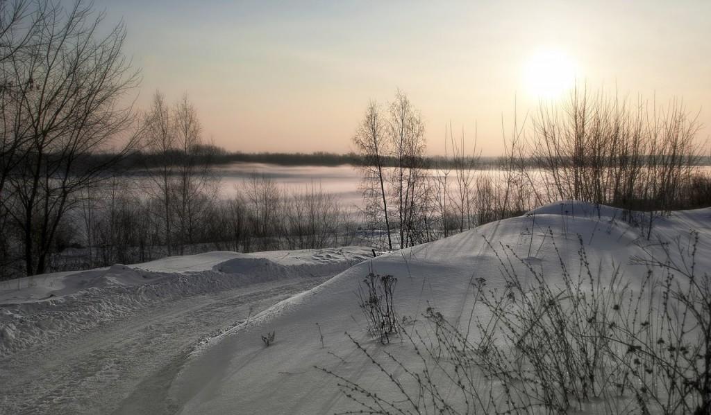 Зима на Оке и Илевне близ Мурома 09