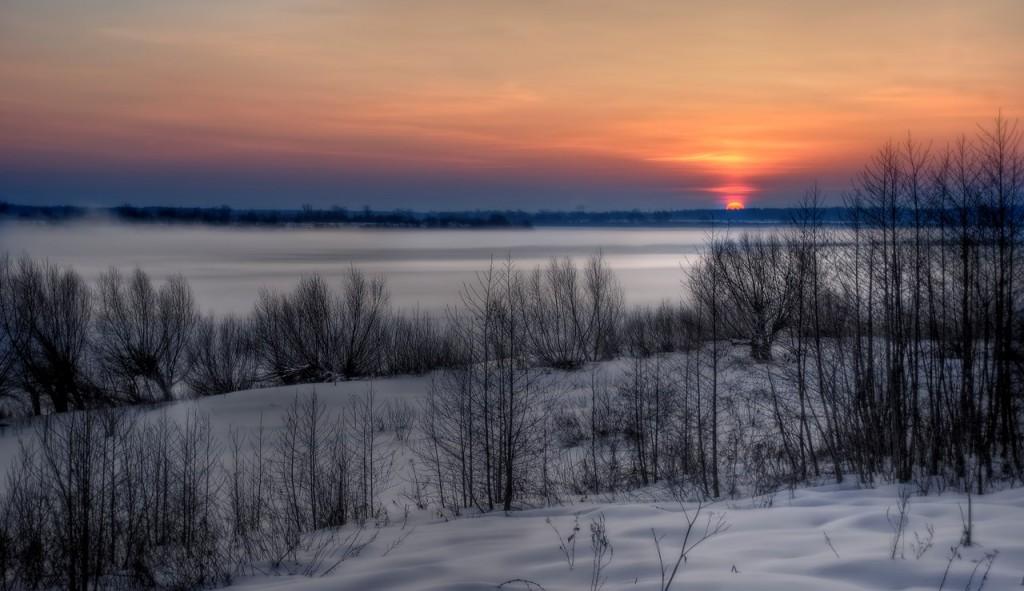 Зима на Оке и Илевне близ Мурома 10