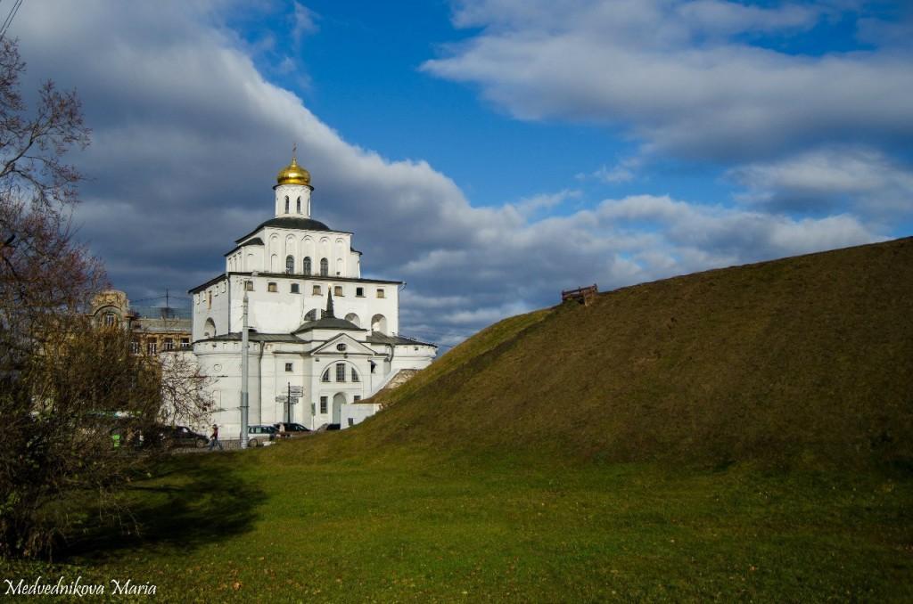 Золотые Ворота Владимира от Марины Медведниковой