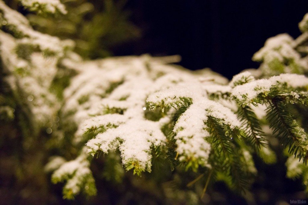 Кажется снег начинается!